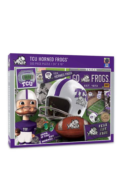 You The Fan NCAA TCU Horned Frogs Retro