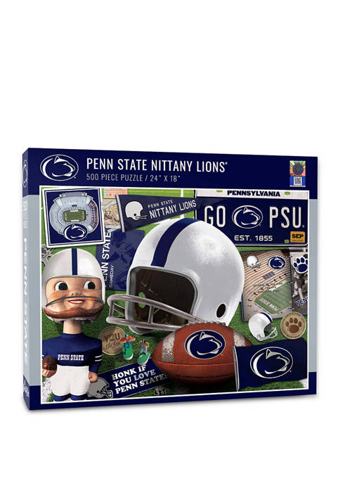 NCAA Penn State Nittany Lions Retro Series Puzzle - 500 Pieces