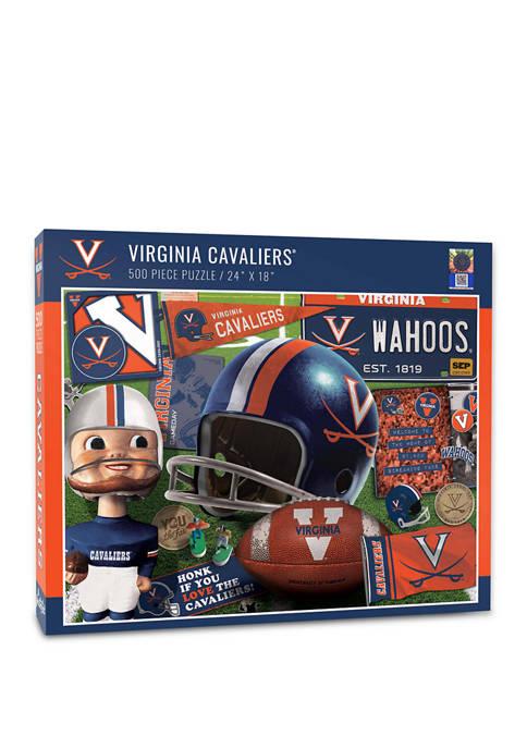 NCAA Virginia Cavaliers Retro Series Puzzle - 500 Pieces