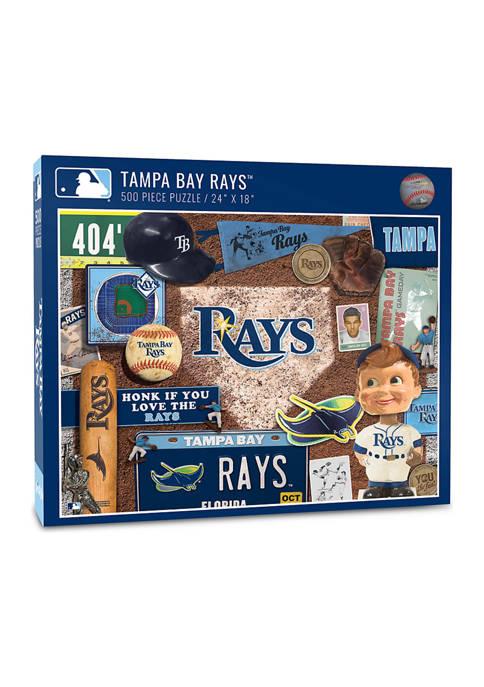 MLB Tampa Bay Rays Retro Series Puzzle - 500 Pieces