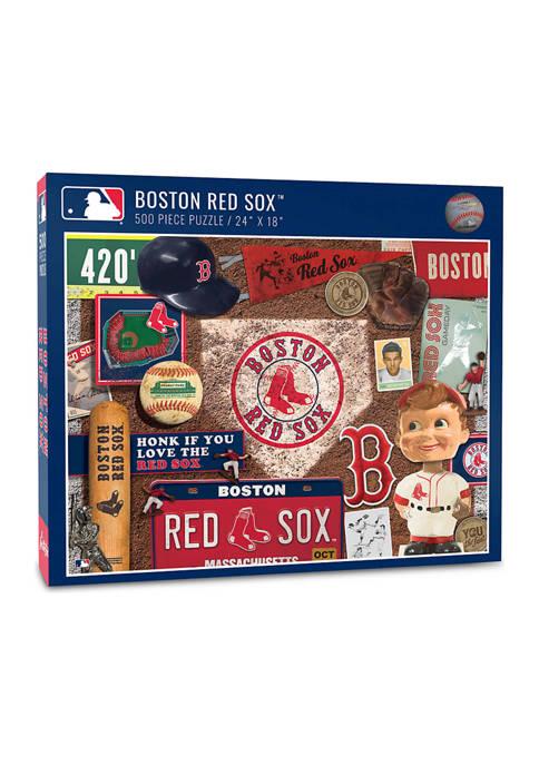 MLB Boston Red Sox Retro Series Puzzle - 500 Pieces