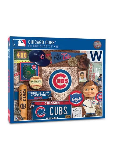 MLB Chicago Cubs Retro Series Puzzle - 500 Pieces