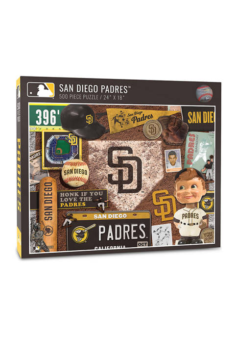 MLB San Diego Padres Retro Series Puzzle - 500 Pieces