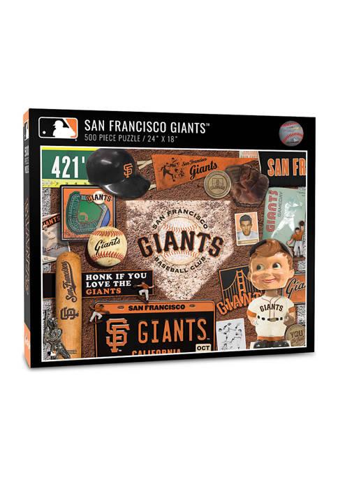 You The Fan MLB San Francisco Giants Retro