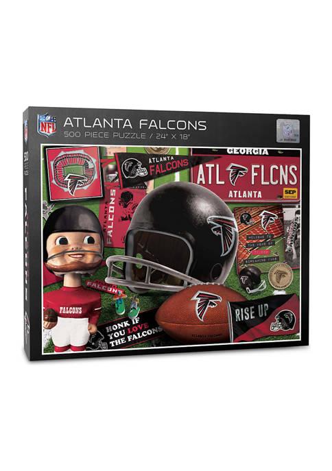Atlanta Falcons Retro Series Puzzle - 500 Pieces