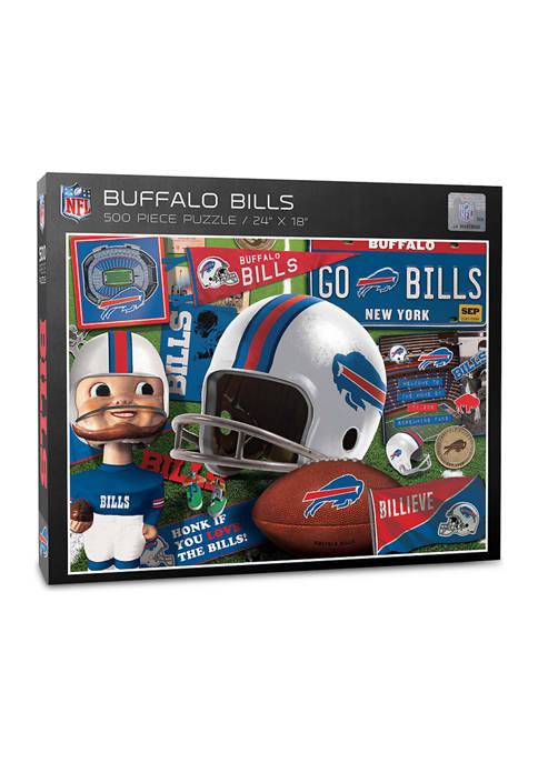 Buffalo Bills Retro Series Puzzle - 500 Pieces