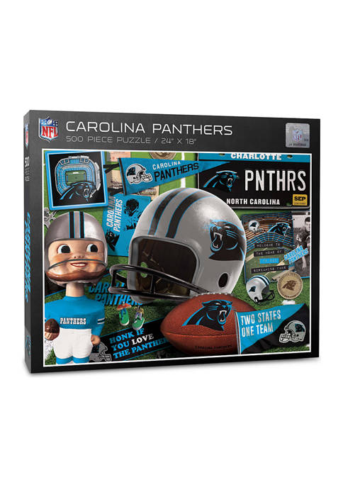 You The Fan Carolina Panthers Retro Series Puzzle
