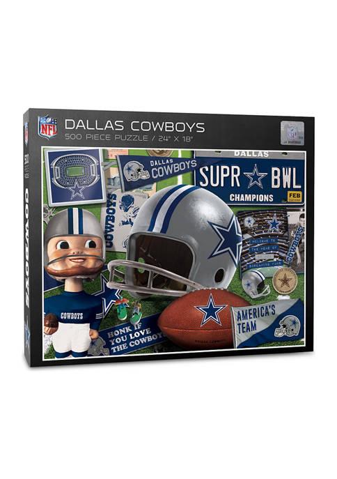 Dallas Cowboys Retro Series Puzzle - 500 Pieces