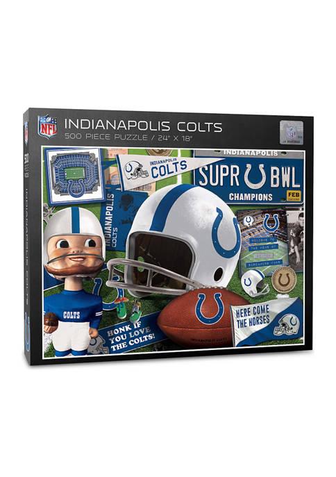 Indianapolis Colts Retro Series Puzzle - 500 Pieces