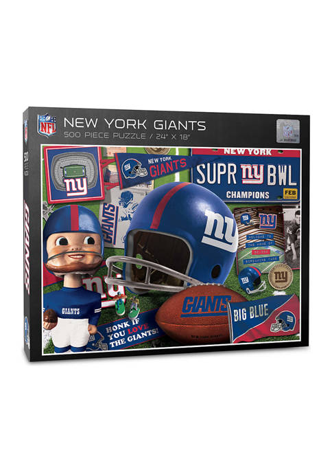 New York Giants Retro Series Puzzle - 500 Pieces
