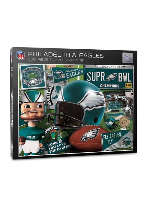Philadelphia Eagles Retro Series Puzzle - 500 Pieces