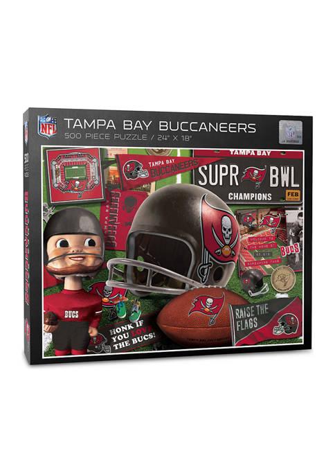 Tampa Bay Buccaneers Retro Series Puzzle - 500 Pieces