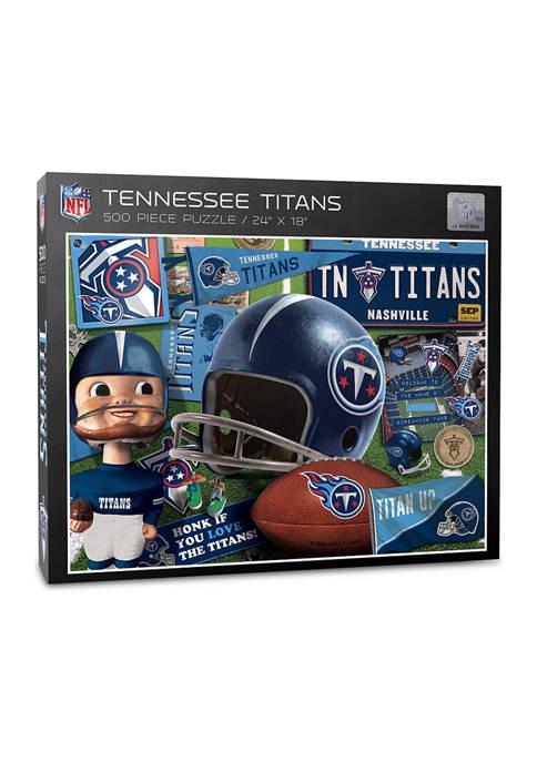 Tennessee Titans Retro Series Puzzle - 500 Pieces