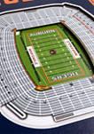 NCAA Auburn Tigers  3D Stadium Banner-8x32
