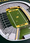 NCAA Baylor Bears  3D Stadium Banner-8x32