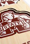 NCAA Mississippi State Bulldogs  3D Stadium Banner-8x32