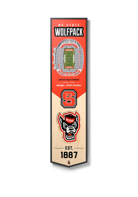 You The Fan NCAA NC State Wolfpack 3D