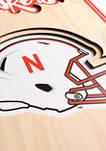 NCAA Nebraska Cornhuskers  3D Stadium Banner-8x32