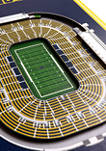 NCAA Notre Dame Fighting Irish 3D Stadium Banner-8x32