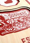 NCAA Oklahoma Sooners  3D Stadium Banner-8x32