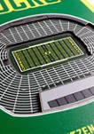 NCAA Oregon Ducks  3D Stadium Banner-8x32