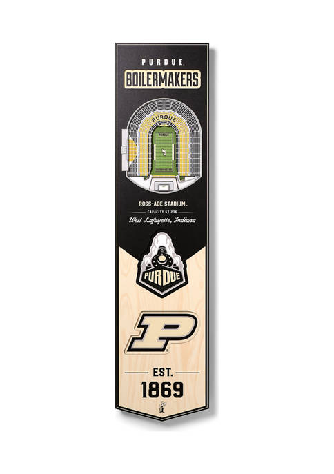 You The Fan NCAA Purdue Boilermakers FB 3D