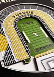 NCAA Purdue Boilermakers FB  3D Stadium Banner-8x32