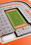 NCAA Texas Longhorns  3D Stadium Banner-8x32