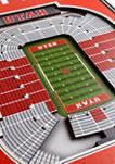 NCAA Utah Utes3D Stadium Banner-8x32