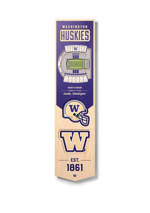You The Fan NCAA Washington Huskies 3D Stadium