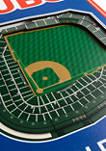 MLB Chicago Cubs  3D Stadium Banner-8x32