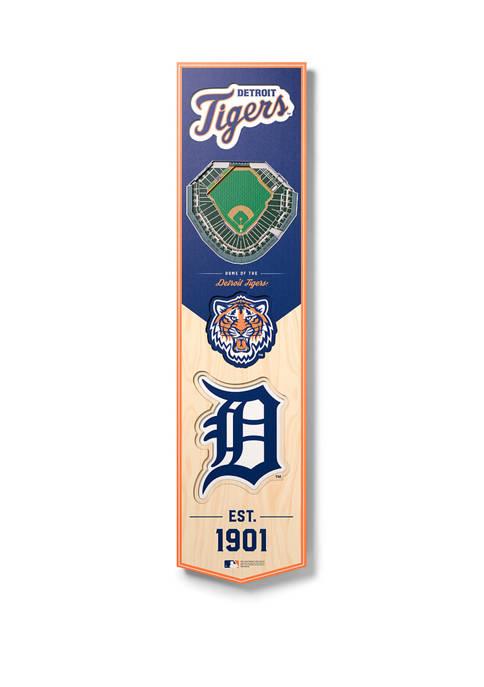 You The Fan MLB Detroit Tigers 3D Stadium