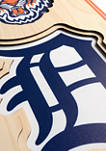 MLB Detroit Tigers  3D Stadium Banner-8x32