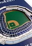MLB New York Yankees  3D Stadium Banner-8x32