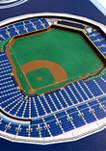 MLB Tampa Bay Rays  3D Stadium Banner-8x32