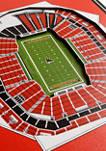 NFL Atlanta Falcons  3D Stadium Banner-8x32