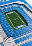NFL Detroit Lions  3D Stadium Banner-8x32