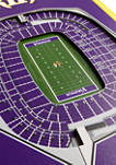NFL Minnesota Vikings  3D Stadium Banner-8x32