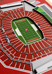 NFL San Francisco 49ers  3D Stadium Banner-8x32