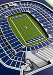 NFL Seattle Seahawks  3D Stadium Banner-8x32