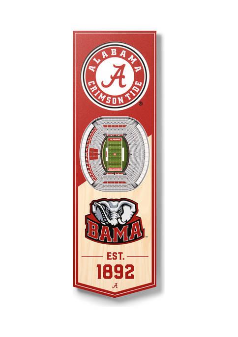 You The Fan NCAA Alabama Crimson Tide 3D