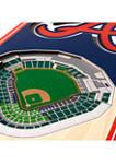MLB Atlanta Braves 3D Stadium Banner-6x19