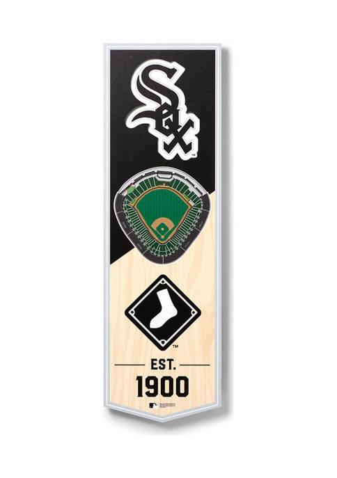 MLB Chicago White Sox 3D Stadium Banner-6x19