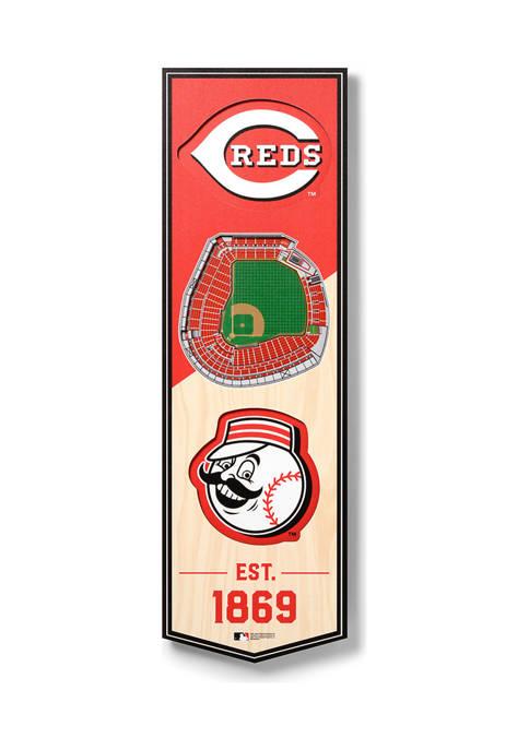 You The Fan MLB Cincinnati Reds 3D Stadium