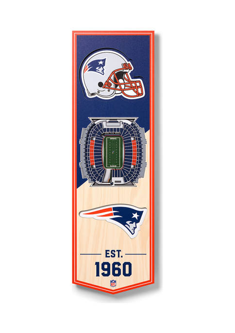 You The Fan NFL New England Patriots 3D