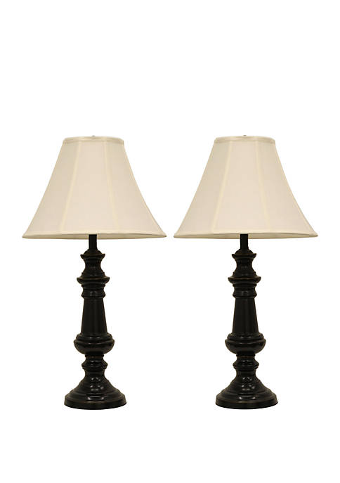 Set of Two Touch Control Table Lamps