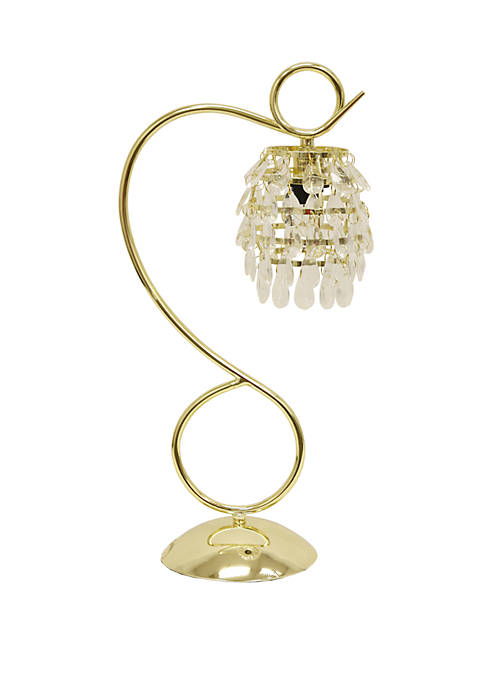 Décor Therapy Crystal Dangles Table Lamp