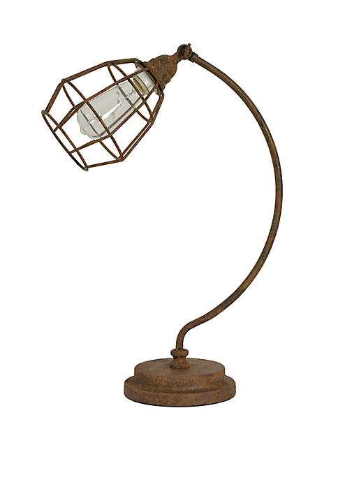 Décor Therapy Caged Desk Lamp