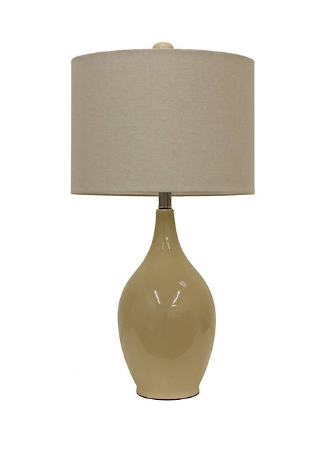 Décor Therapy Anabelle Ceramic Table Lamp