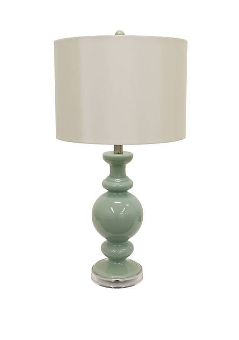 Décor Therapy Logan Glass Table Lamp